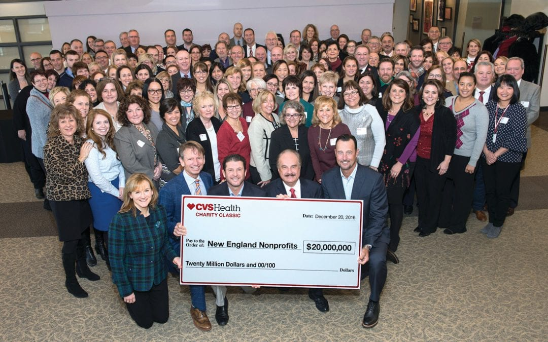 Project Undercover receives donation from CVS Health Charity Classic