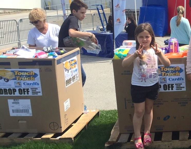 Cat Country & Cardi's Touch-a-Truck Sets New Record for Donations