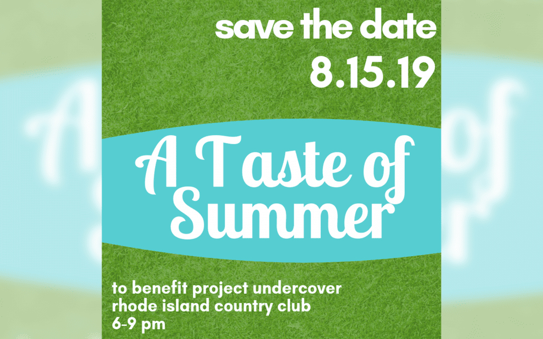 Save the Date for Our 5th Annual Taste of Summer